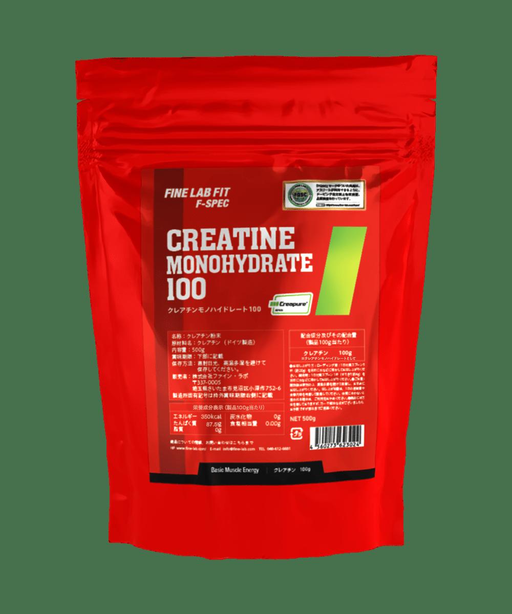 CREATINE<br>MONOHYDRATE 100
